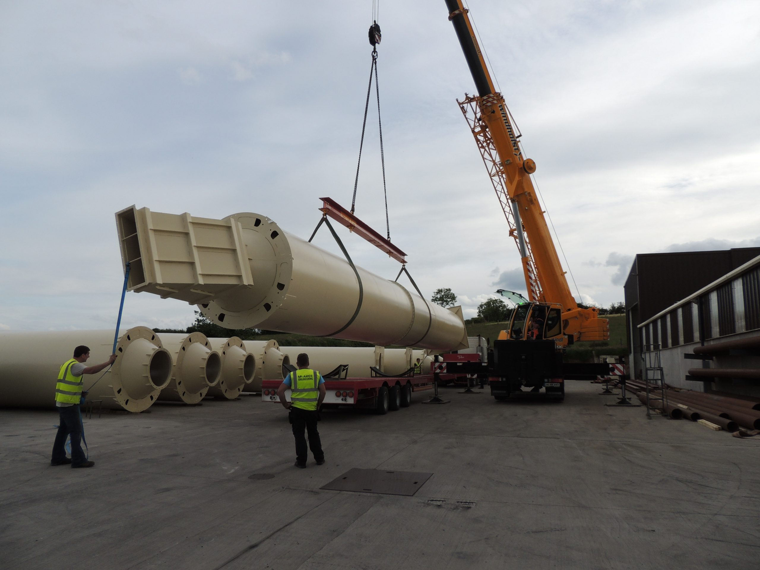 V-Mac Project - Mill Expansion -McAree Engineering Ltd